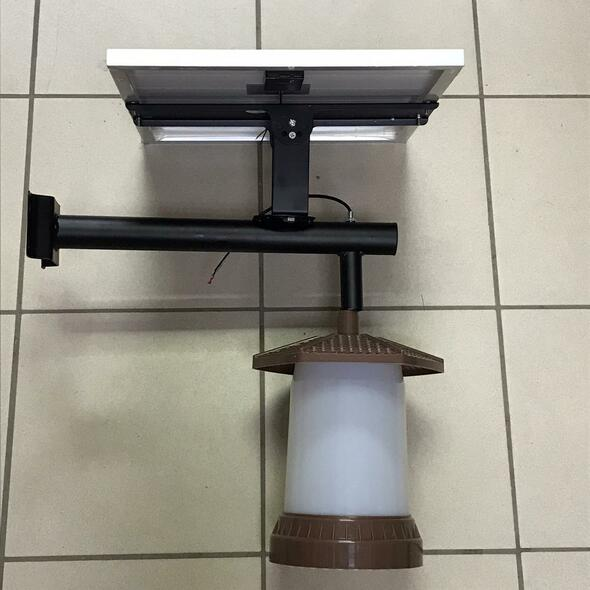 SOLAR LIGHT GARDEN LAMP MNJ-168
