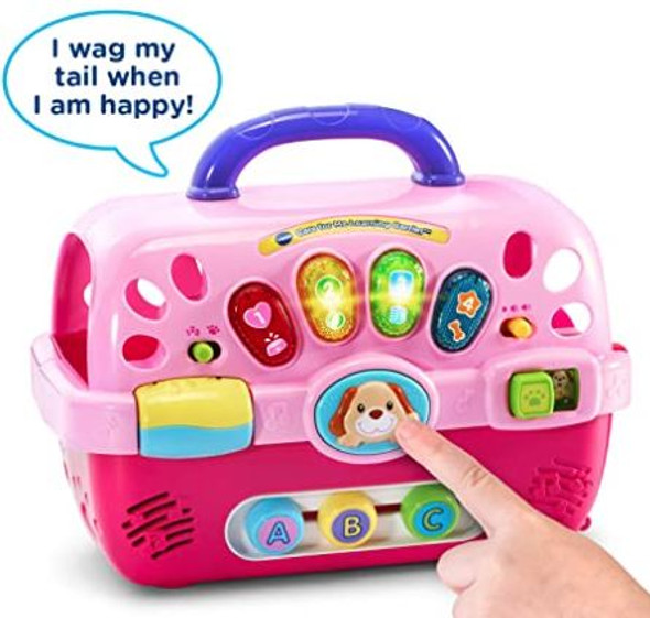 Toy VTech Care for Me Learning Carrier Pink