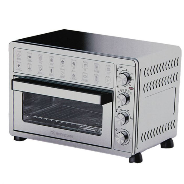 TOASTER OVEN WHITE WESTINGHOUSE WKTOGH28  WITH AIR FRYER 28L STAINLESS STEEL