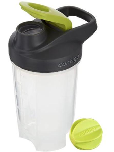 Shaker Bottle Contigo Shake & Go Fit Snap Lid 20 oz Electric Green