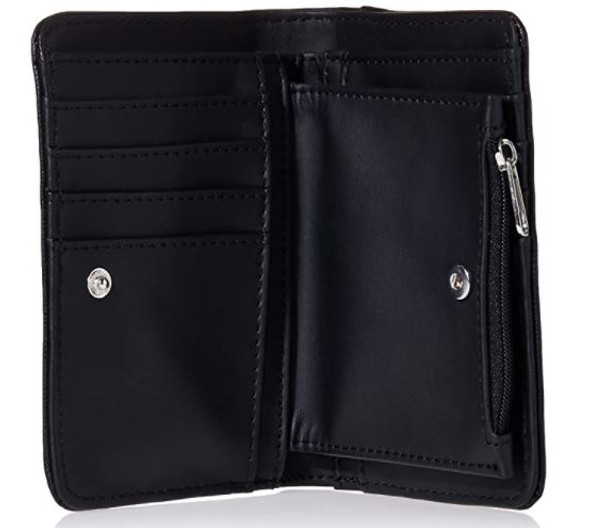 Wallet Women Nine West Colby Small Fold-Over Black