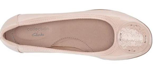 Footwear Clarks Women's Gracelin Blush Lola Ballet Flat