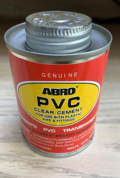 PVC PASTE CEMENT 1/4PT ABRO