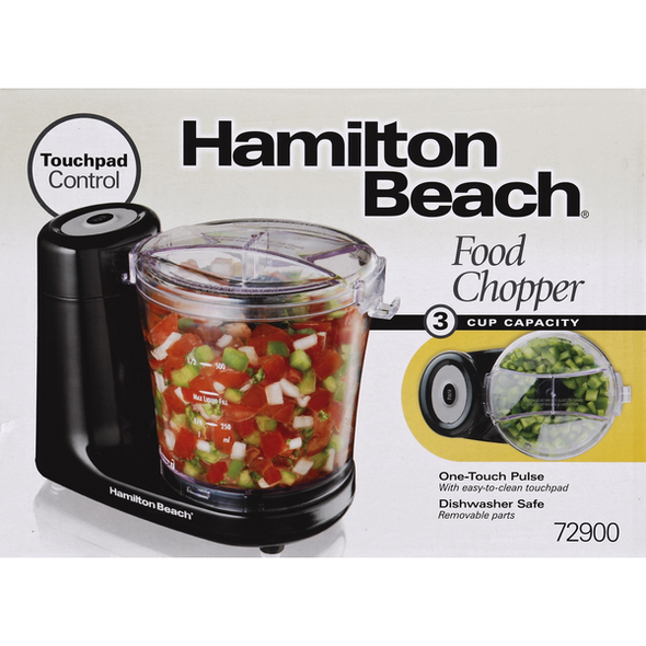 MINI FOOD CHOPPER HAMILTON BEACH 72900