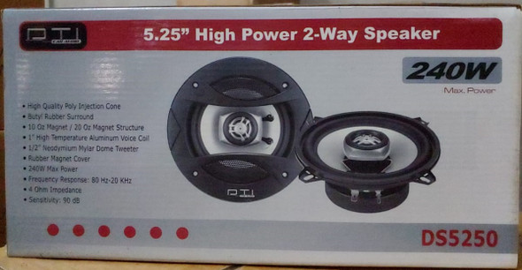 "SPEAKER CAR DTI 5.25"" DS5250 2-WAY 240W"