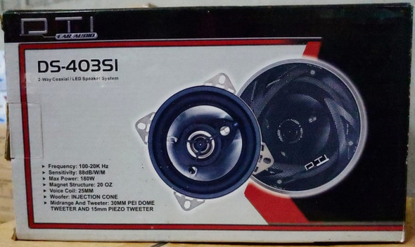 "SPEAKER CAR DTI 4"" DS-403SI 180W"