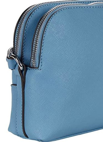 Bag Nine West Carsten Satchel Crossbody Blue