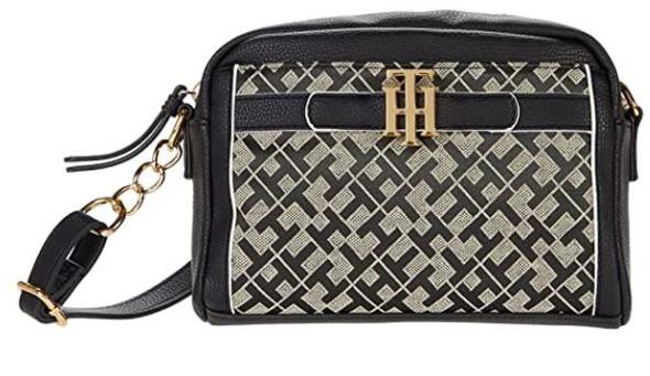Bag Tommy Hilfiger Laurel Crossbody Geometric Jacquard