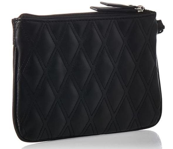 Bag  Nine West Tinsel Wristlet Black