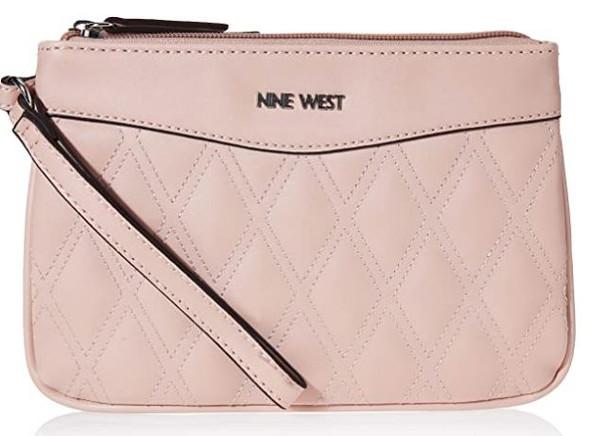 Bag Nine West Tinsel Wristlet Blush