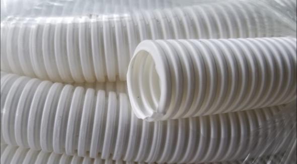 CONDUIT FLEXIBLE PVC 25MM (WHITE) FT.