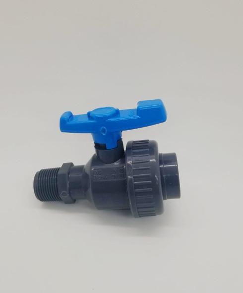 """PVC MALE UNION VALVE 3/4"""" PENGUIN"""