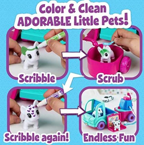 Toy Crayola Scribble Scrubbie Pets Grooming Truck