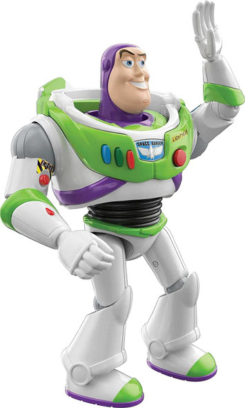 Toy Disney Pixar Interactables Buzz Lightyear Talking Action Figure 7 inches