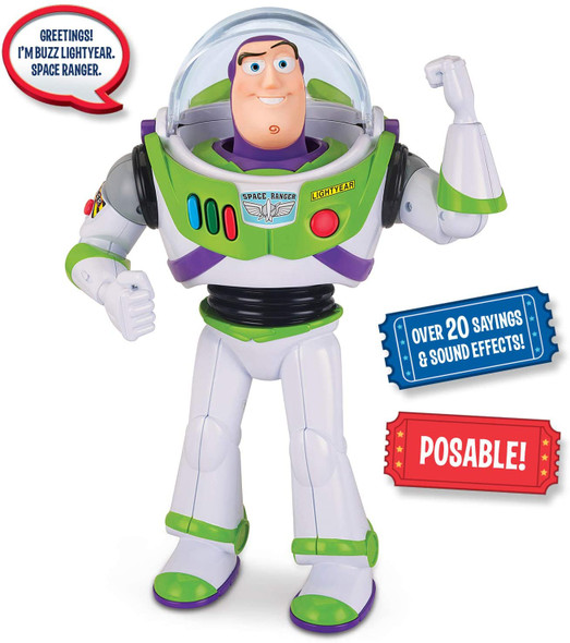 Toy Disney Pixar Toy Story 4 Buzz Lightyear 12 inches Talking Action Figure