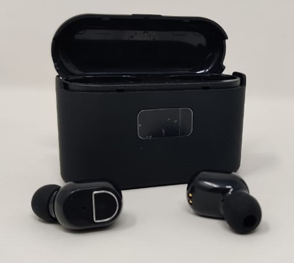 EARPIECE BLUETOOTH V5.1 P-1 STEREO WITH CHARGING CASE WIRELESS HEADPHONES