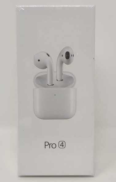 EARPIECE BLUETOOTH PRO4 WITH CHARGING CASE WIRELESS