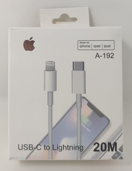 CABLE LIGHTING - USB TYPE C A-192 20M IPHONE