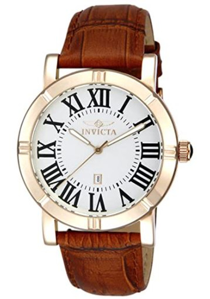 Watch Invicta Men's Specialty Set 42mm Stainless Steel and Leather Strap Quartz  Multi-color 13971