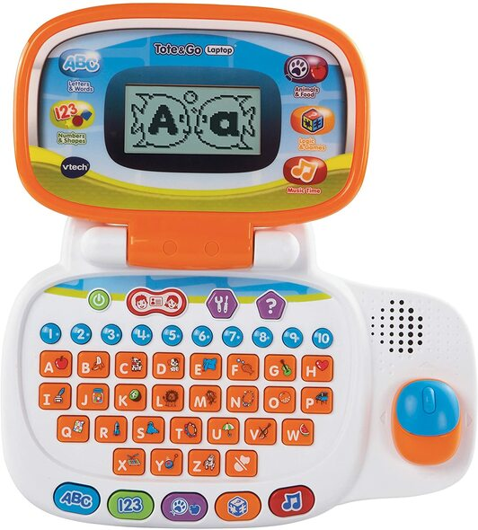 Toy VTech Tote and Go Laptop Orange
