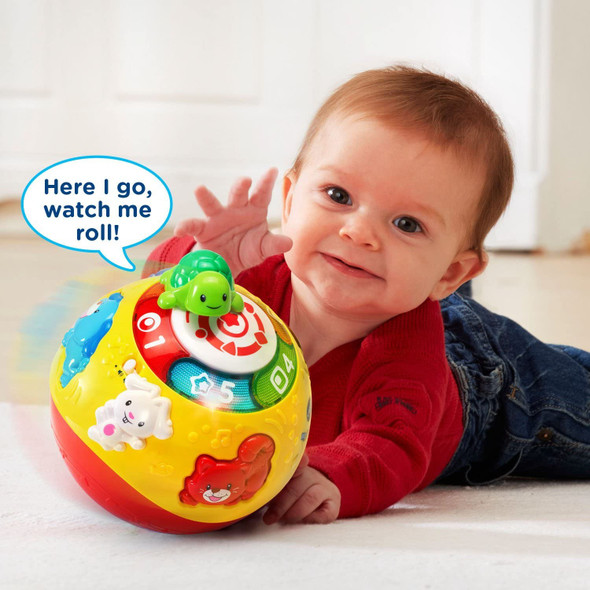 Toy VTech Wiggle and Crawl Ball