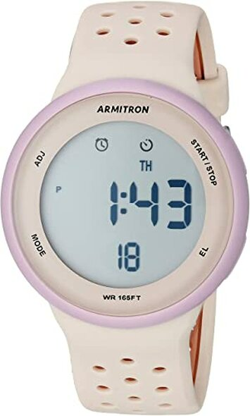 Watch Armitron Sport Unisex Digital Chronograph Silicone Strap 8423