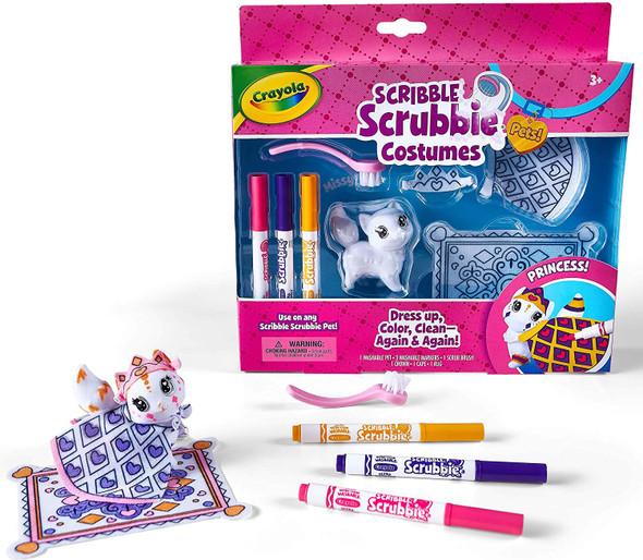 Toy Crayola Scribble Scrubbie Princess Playset