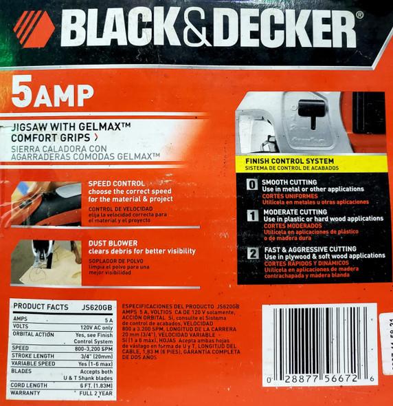 JIG SAW BLACK & DECKER JS620GB