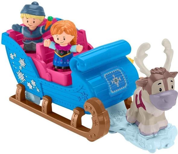 Toy Disney Frozen Kristoff's Sleigh by Little People