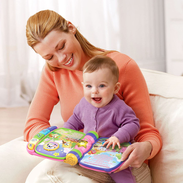 Toy VTech Musical Rhymes Book, Pink