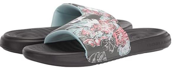 Footwear Under Armour Men's Ansa Graphic Slide Sandal Black