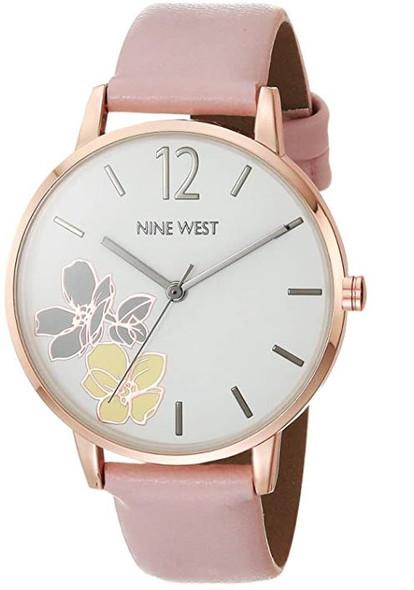 Watch Nine West Women's Flower Dial Strap NW/2552