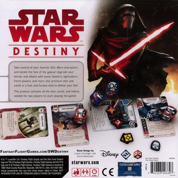 Toy Fantasy Flight Game Star Wars Destiny: Two-Player