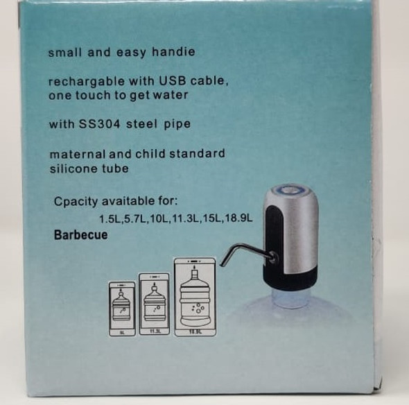PUMP FOR BOTTLE WATER RECHARGEABLE AUTOMATIC WATER DISPENSER