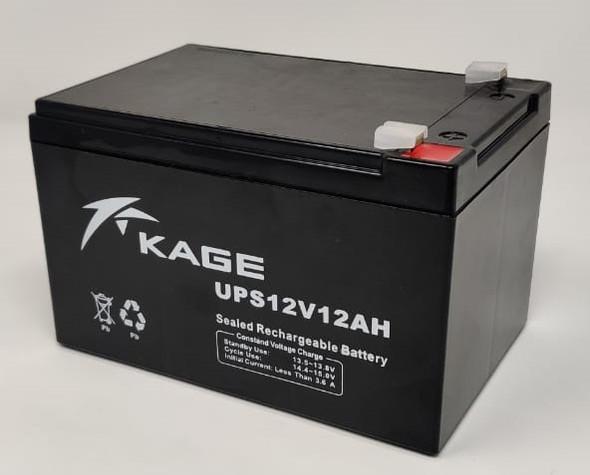 BATTERY RECHARGEABL 12V 12AH KAGE UPS12V12AH E/BIKE