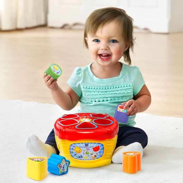 Toy VTech Sort and Discover Drum
