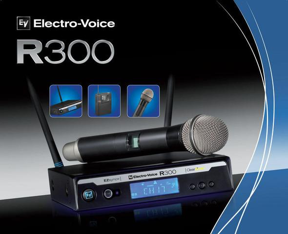 MICROPHONE EV R300-HD-C PL22