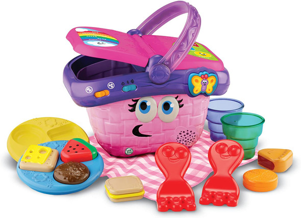 Toy LeapFrog Shapes and Sharing Picnic Basket