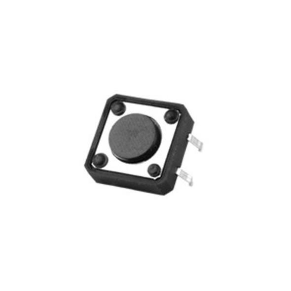 SWITCH MINI PRESS 0.1A 12V EC-4112D 12X12 CONNECT