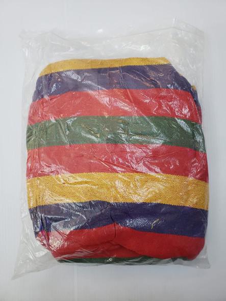 HAMMOCK STRIPE COLOURED (LARGE) in plastic bag