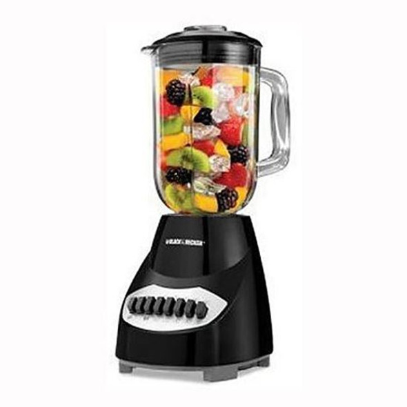 BLENDER BLACK & DECKER 10SP BL2010BGC GLASS