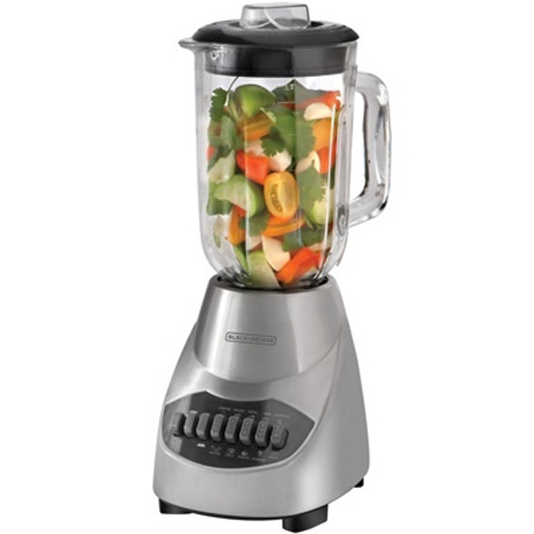 BLENDER BLACK & DECKER 10SP BLBD10GSS GLASS S/STEE