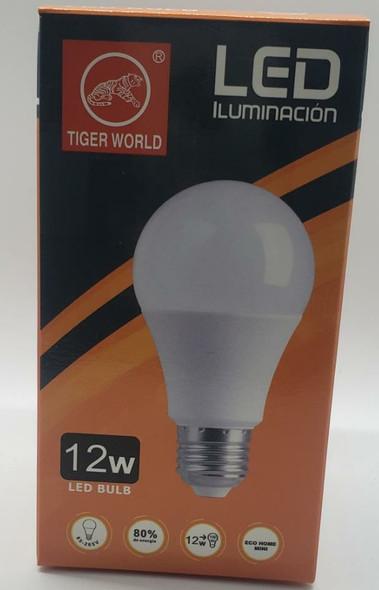 BULB LED 12W TIGER WORLD 85-265V 6500K 1200LM