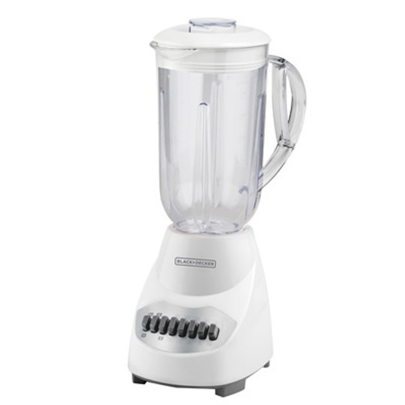 BLENDER BLACK & DECKER 10SP BLBD10PW PLASTIC WHT