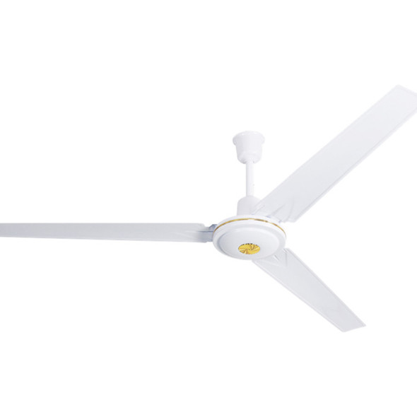 """FAN 56"""" CEILING PREMIER AB-7357CF 110V 75W WHITE AND GOLD"""