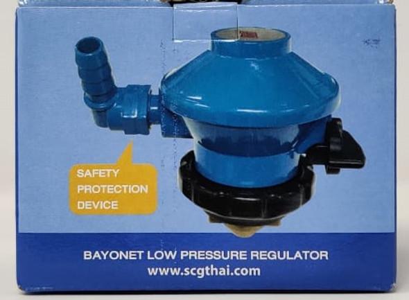 GAS SHELL SOL ADAPTOR SCG R96L BAYONET LOW PRESSURE REGULATOR