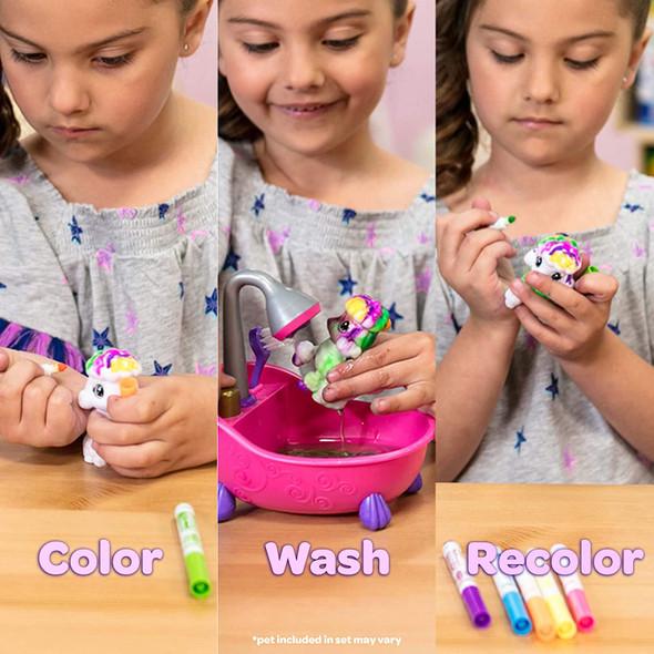 Toy Crayola Scribble Scrubbie Pets Scrub Tub Animal Toy Set