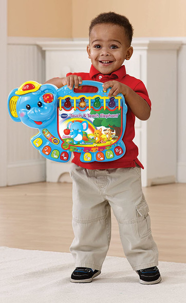 Toy VTech Touch and Teach Elephant Book