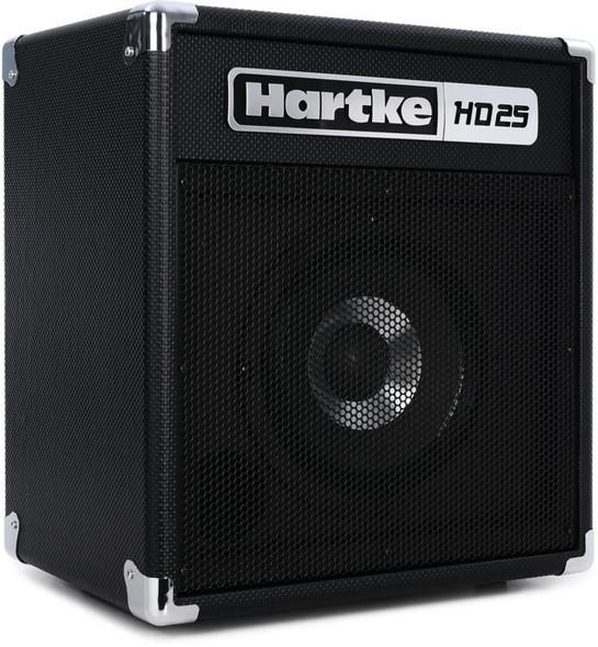 """AMPLIFIER BASS GUITAR HARTKE HD25 8"""" HYDRIVE SPEAKER 25W COMBO"""
