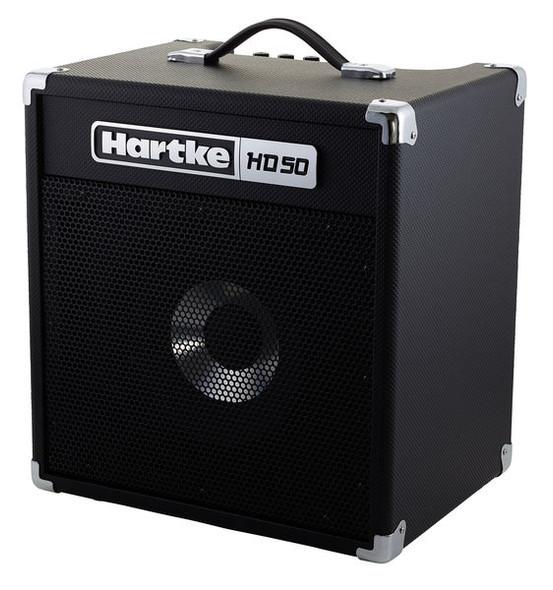 """AMPLIFIER BASS GUITAR HARTKE HD50 14"""" HYDRIVE SPEAKER 50W COMBO"""